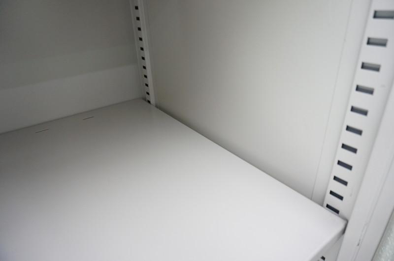 イトーキ シンライン 3ラテ+両開き書庫 H2140 WE
