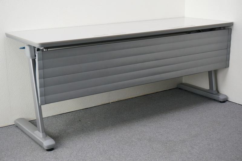 オカムラ プラクシス フラップテーブル 1860 白ダクト