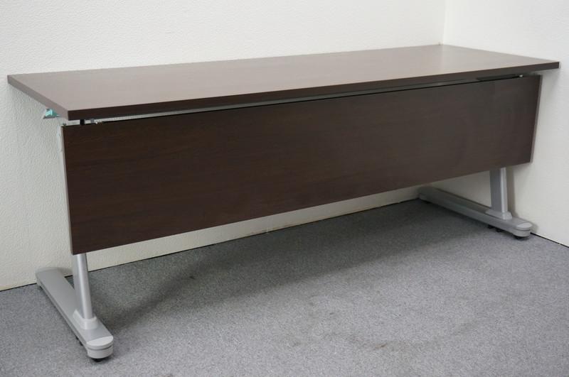 プラス MF-J フラップテーブル 1860 幕板付