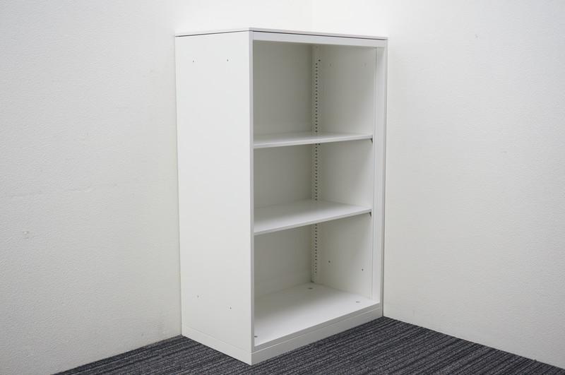 オカムラ レクトライン オープン書庫 天板付 W800 D450 H1265 ZA75色