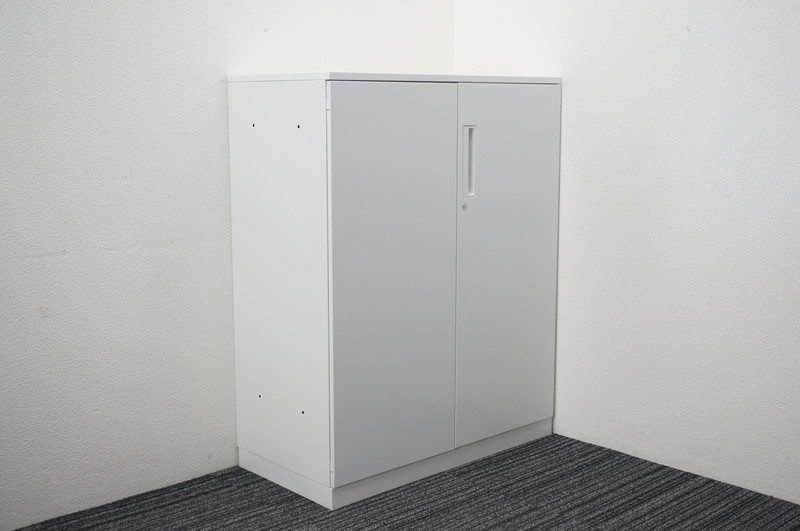 コクヨ エディア 両開き書庫 天板付 シングルベース H1130