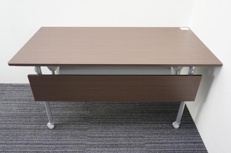 イトーキ アクティブフィールド ミーティングテーブル 1575 シルバー脚