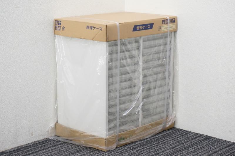 【新品】セイコー 書類整理庫 2列14段 B4 浅型 W595 D400 H700