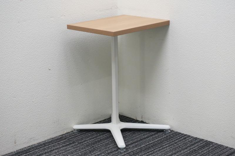 オカムラ アルトリビング ミニテーブル W450 D350 H650 ネオウッドミディアム