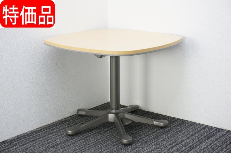 オカムラ プロステージ サブテーブル フットペダル式 7575 H600-750 特価品