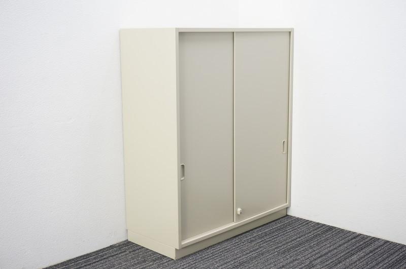 ライオン 2枚引戸書庫 (上置用) W900 D400 H1100