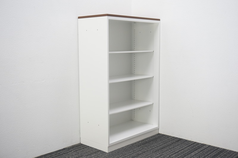 コクヨ エディア オープン書庫 天板付 W800 D400 H1265