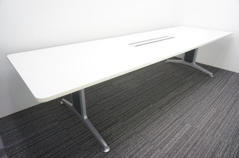 コクヨ WT-200 ミーティングテーブル 3210 ホワイト