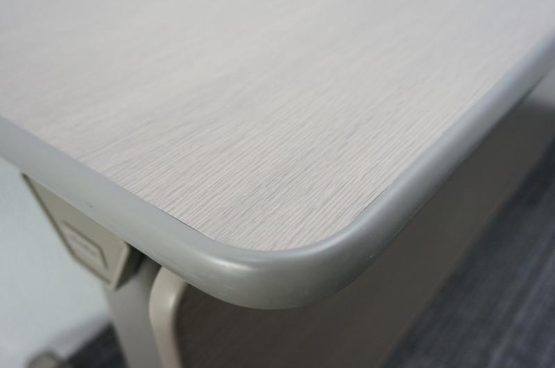 ウチダ サイドスタックSF型 フラップテーブル 幕板付 1560