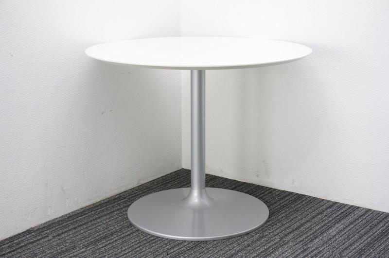丸テーブル ホワイト Φ900 H710