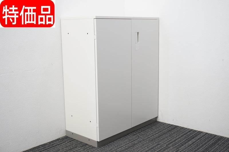 【B級 未使用品】イトーキ エス 両開き書庫 天板付 WEベース H1120 特価品