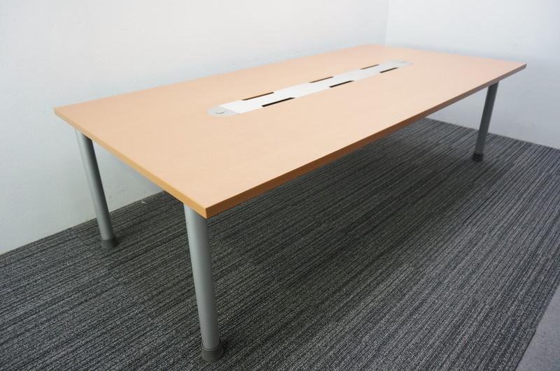 【自社便対応のみ】ウチダ チームテーブル2 ミーティングテーブル 2412