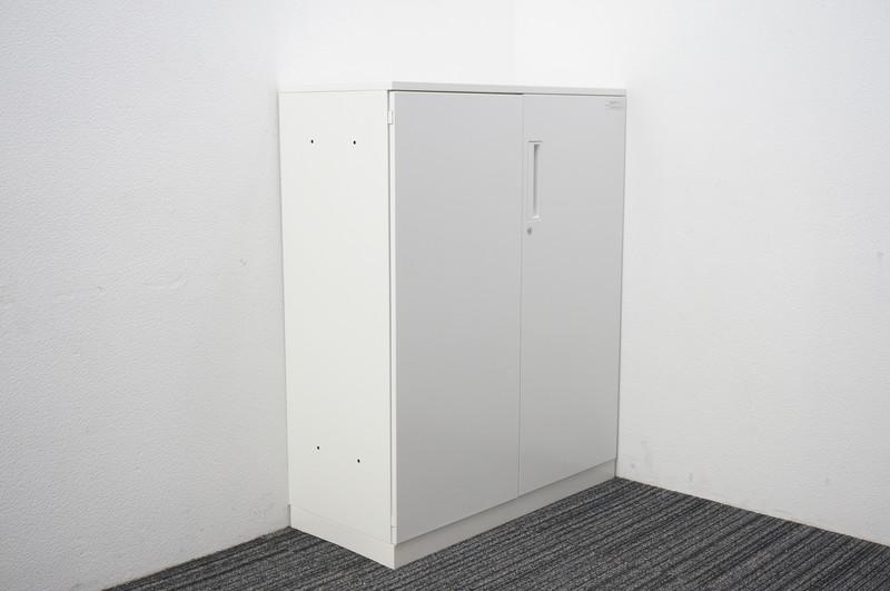 コクヨ エディア 両開き書庫 天板付 W900 D400 H1130
