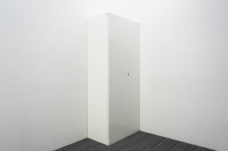 オカムラ SA 両開き書庫 W800 D450 H1900 ホワイト