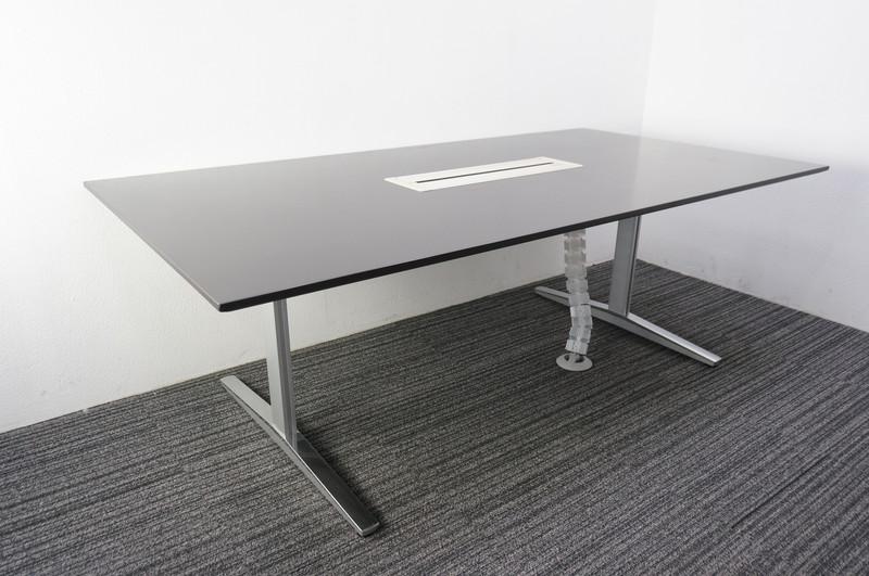 オカムラ EX-200 ミーティングテーブル 2111 ダークブラウン
