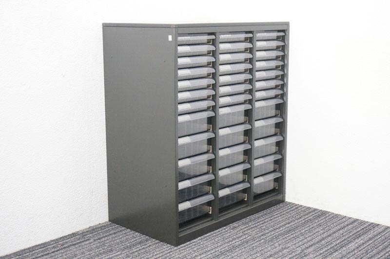 オカムラ SA 書類整理庫 3列12段 天板付 H920