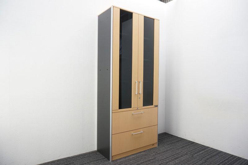 オカムラ マスターライン2 木製書棚 H2100