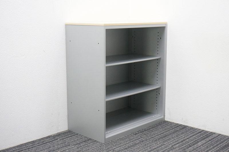 オカムラ SA オープン書庫 天板付 W800 D450 H920