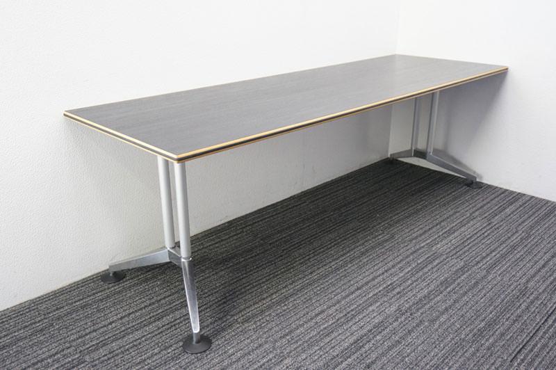 ウィルクハーン ロゴン ミーティングテーブル W2250 D760 H735 (2)