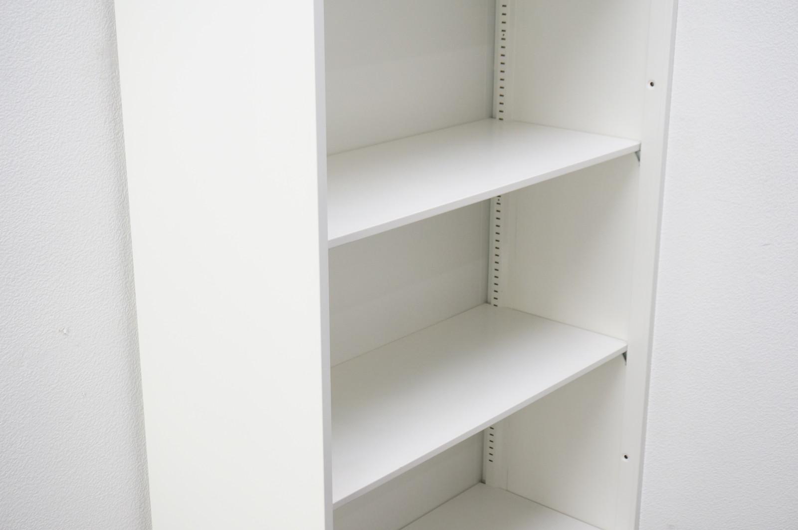 オカムラ レクトライン オープン書庫 W900 D400 H2150 ベース無し ZA75色 特価品
