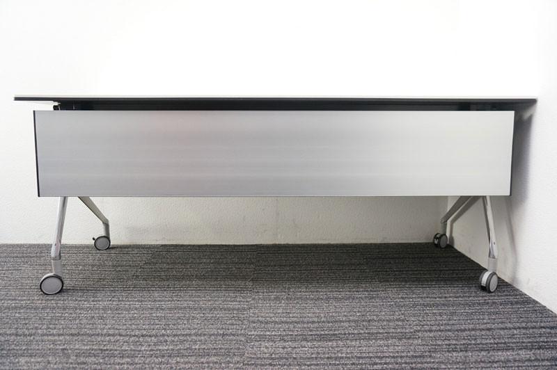 オカムラ インターアクトNT フラップテーブル 1860 ホワイト