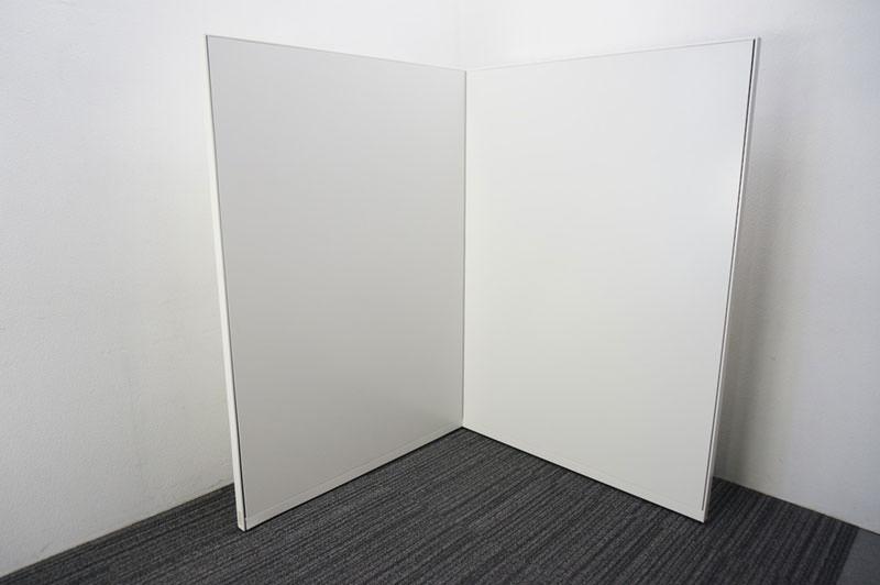 オカムラ ポジット パーティション スチールパネル ホワイト W1200 H1720