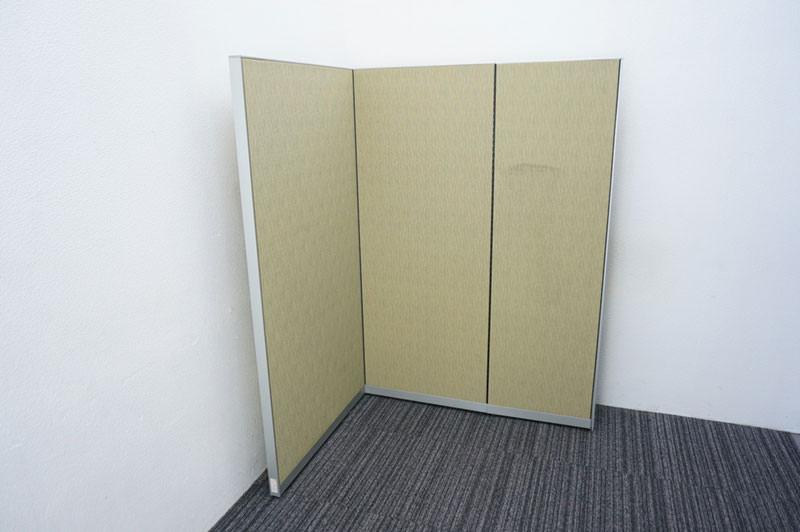 オカムラ ポジット パーティション クロスパネル グリーン H1520