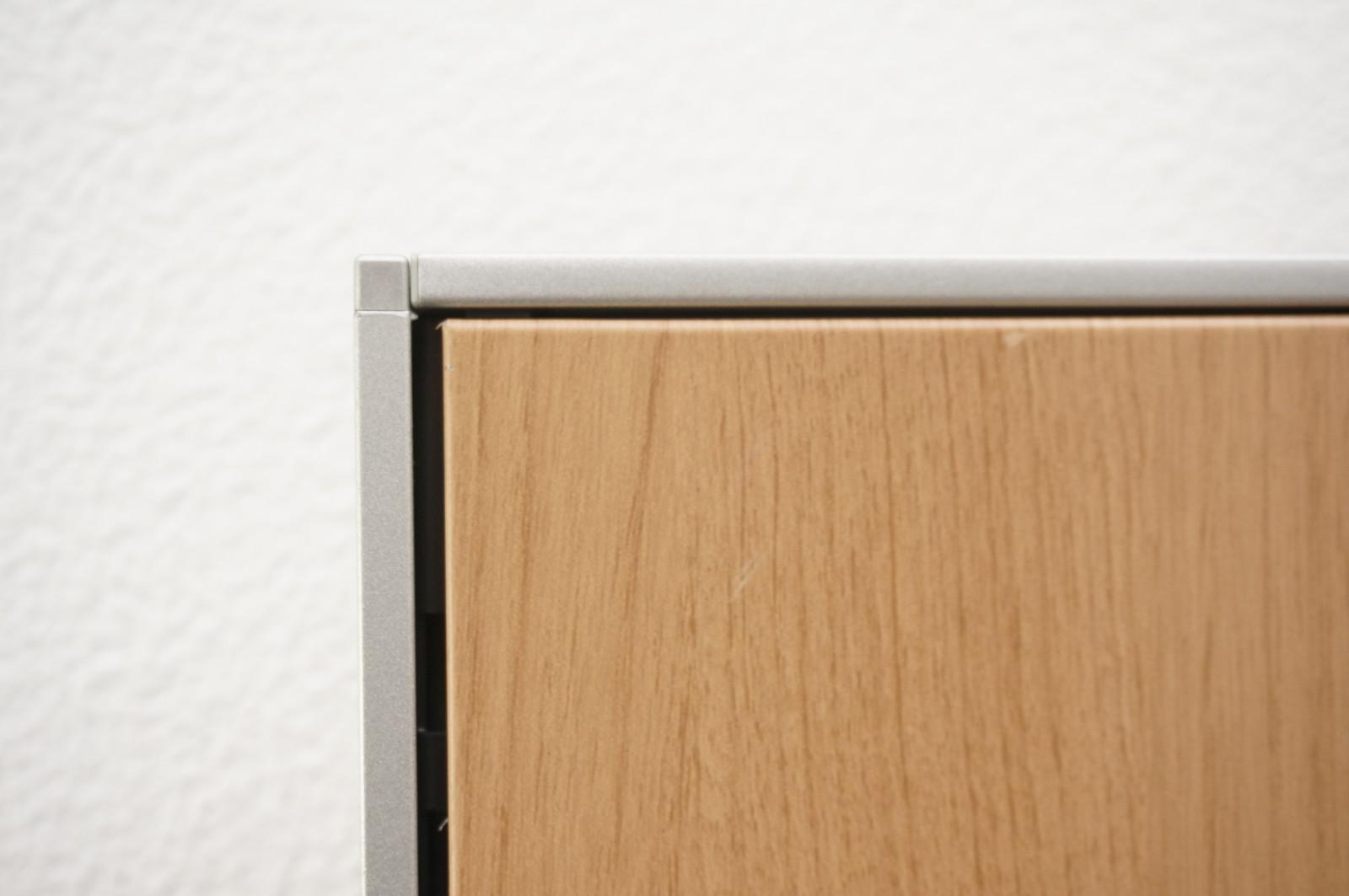オカムラ ポジット パーティション スチールパネル ネオウッドミディアム W1200 H1520