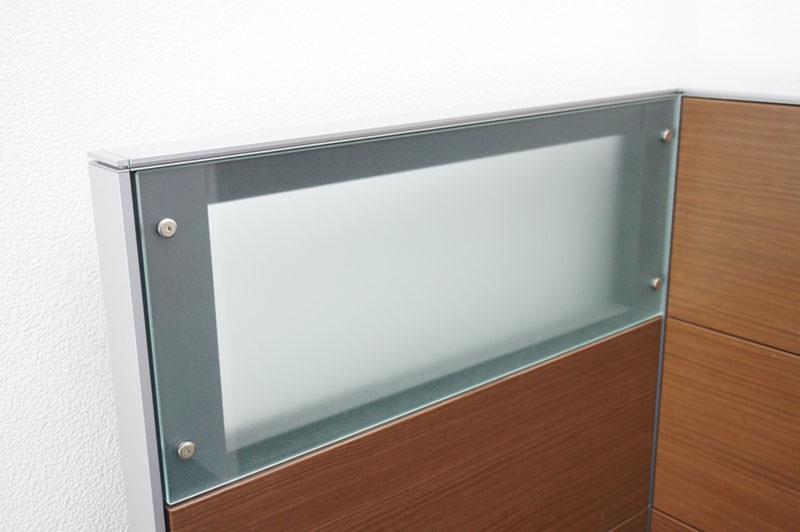 コクヨ インテシス パーティション スチールパネル/ガラスパネル 木目 H1310