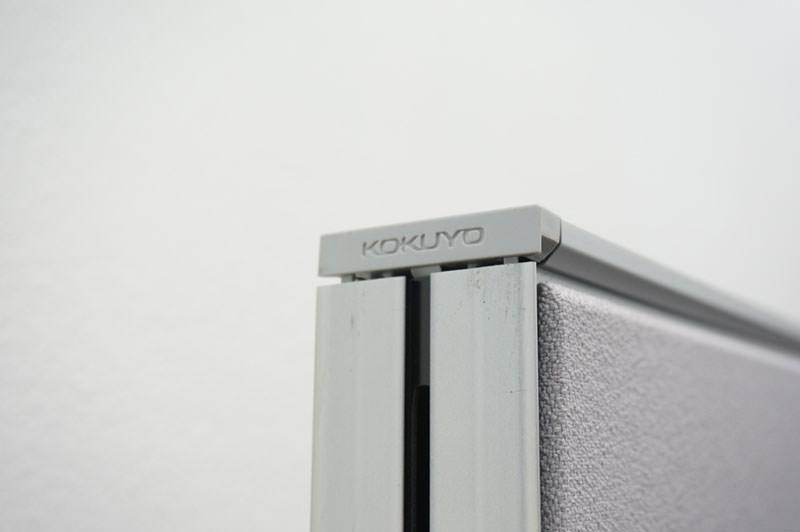 コクヨ フレクセル2 パーティション クロスパネル グレー H1835