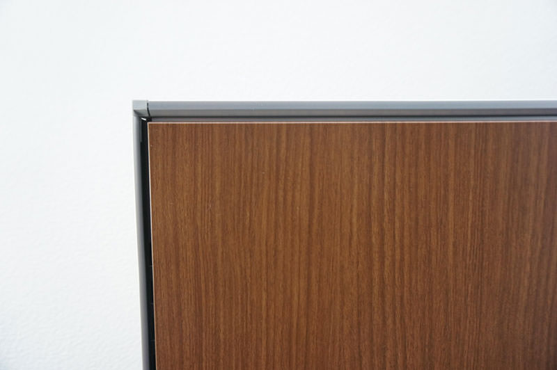 コクヨ フレクセル2 パーティション スチールパネル 木目 H1335