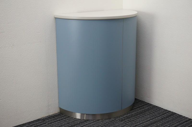 コクヨ インフォメーションカウンター ブルー H900
