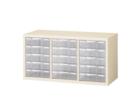 【新品】セイコー 書庫収納型整理庫 3列5段 H495 A4 深