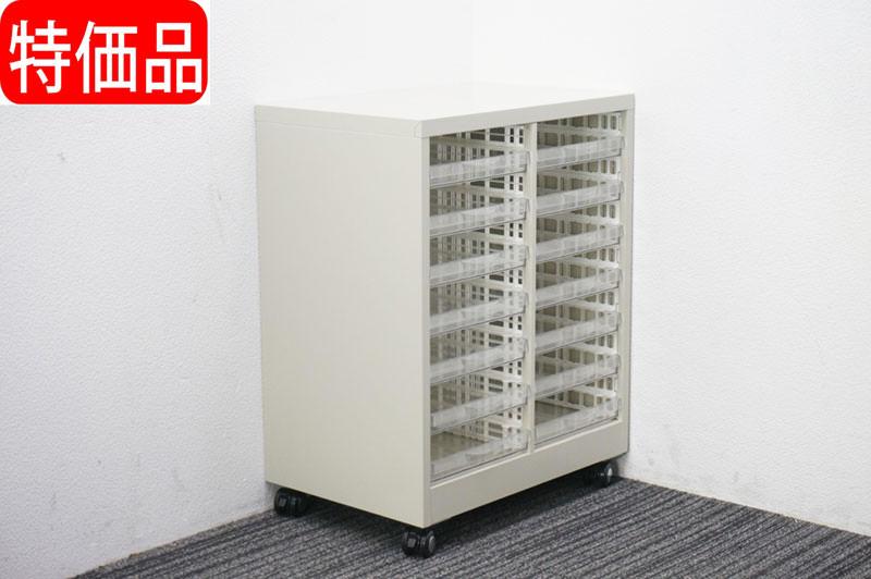 セイコー 書類整理庫 キャスター付 W600 D400 H765 特価品