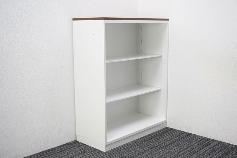 コクヨ エディア オープン書庫 天板付 W900 D400 H1130