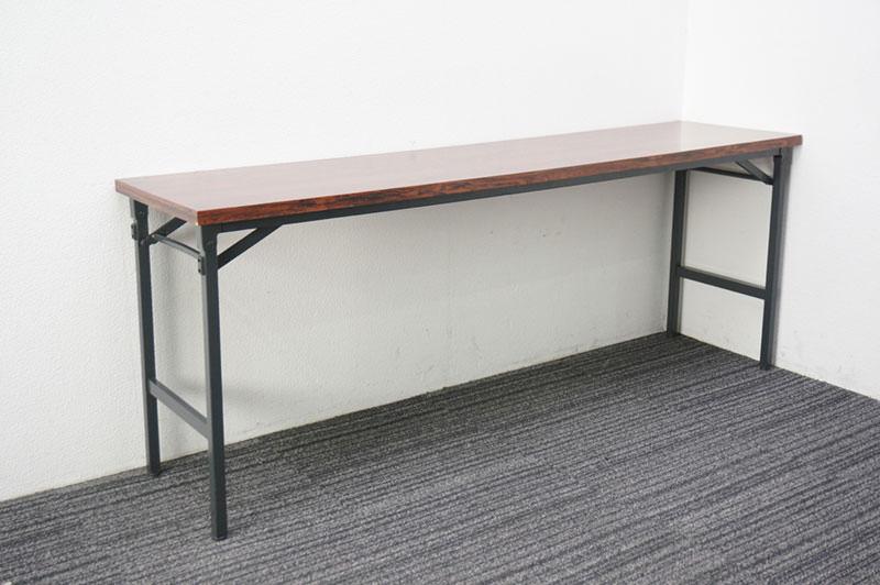 【自社便対応のみ】コクヨ 折りたたみテーブル 1845 網棚なし ローズ