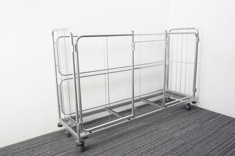【自社便対応のみ】オカムラ 折りたたみテーブル用台車 W1920 D570 H1195