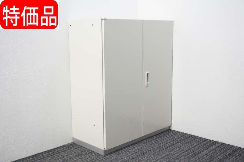 プラス LINX LX-5 両開き書庫 H1100 ホワイト 特価品