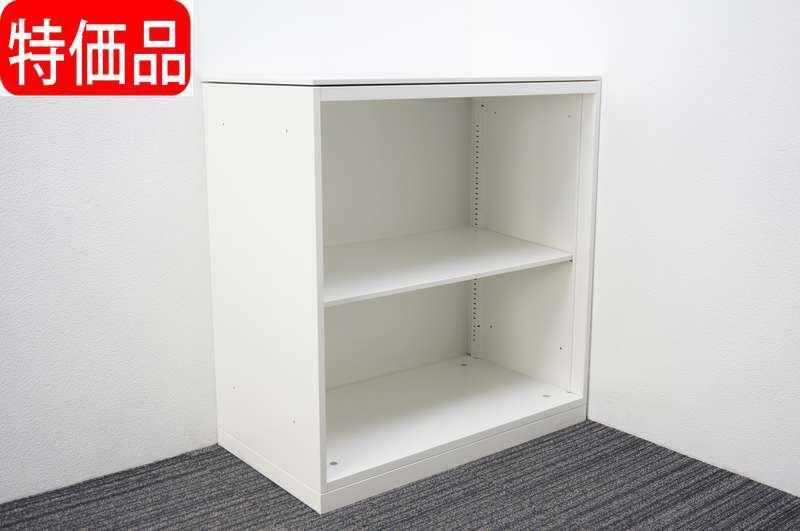 オカムラ レクトライン オープン書庫 W900 D500 H965 ZA75色 特価品