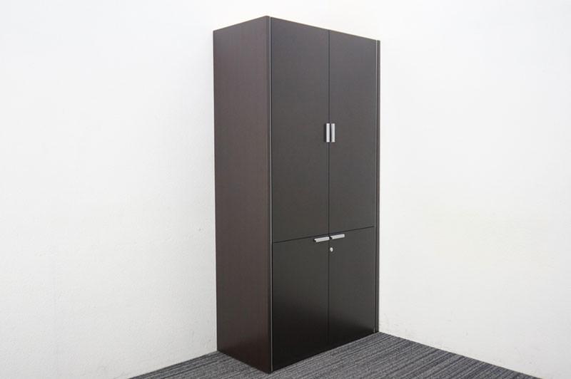 コクヨ N650 木製両開き書棚 W900 D445 H1800