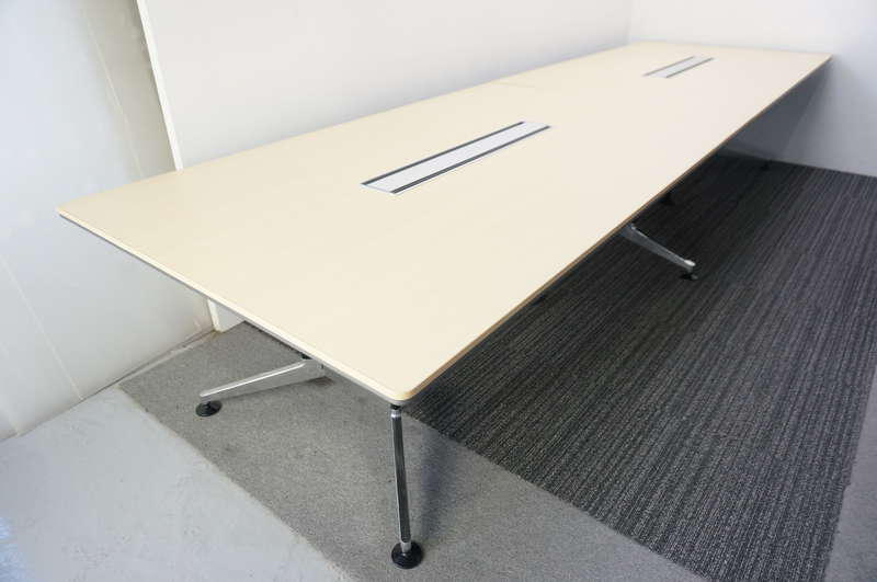 コクヨ WT-300 ミーティングテーブル 4012 ライトナチュラル