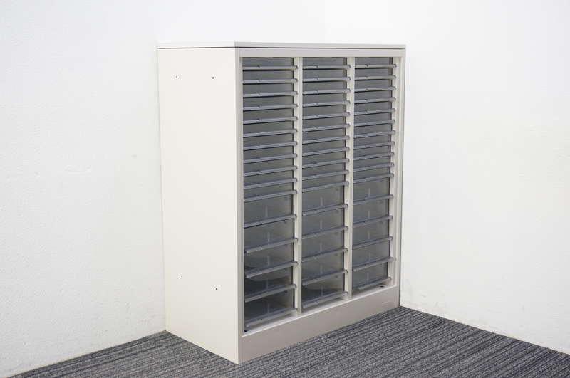 オカムラ 42 書類整理庫 天板付 3列16段 A4 H1120 Z13色