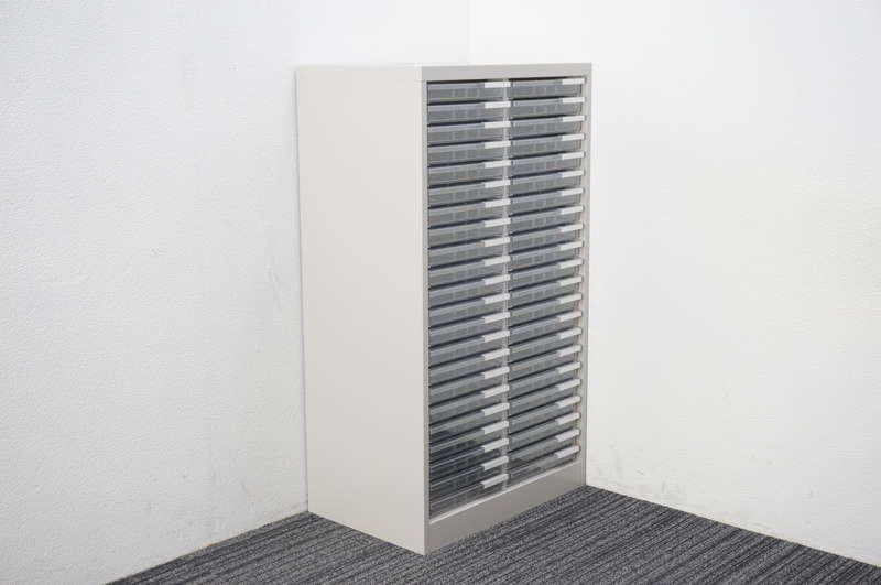 【B級 未使用品】 イトーキ 書類整理庫 2列22段 A4 浅型 W614 D400 H1100