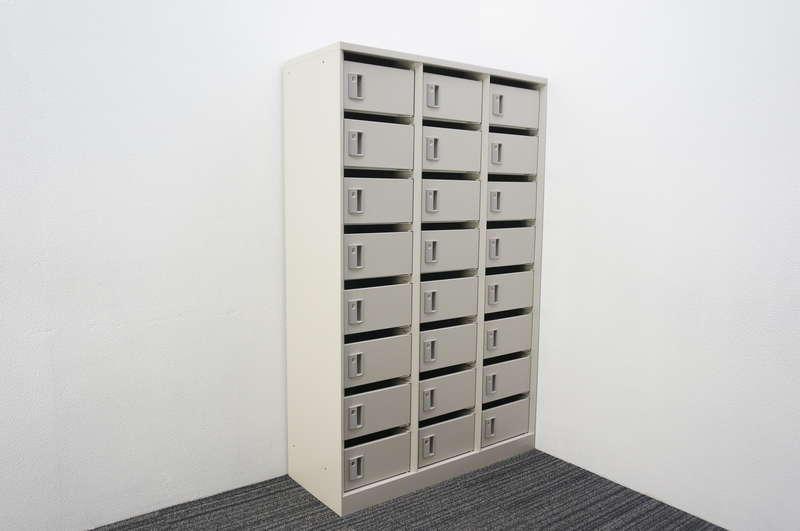 オカムラ メールボックス 24口タイプ W1000 D400 H1600