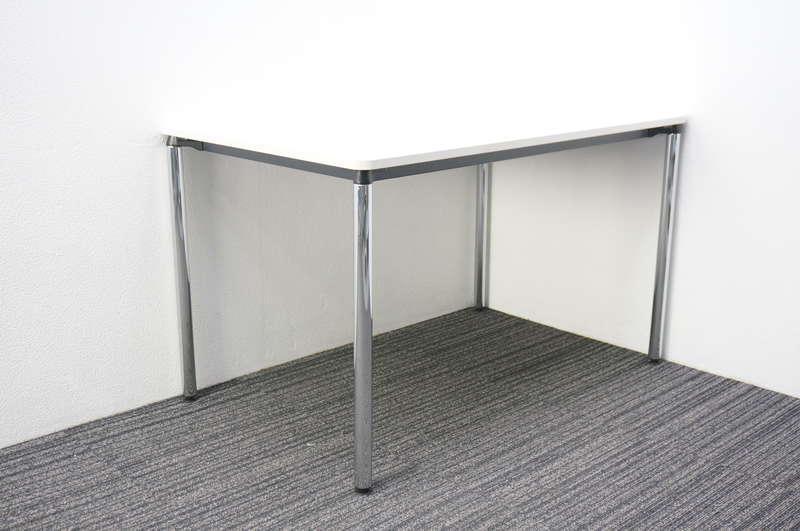 イトーキ DC ミーティングテーブル 1275 4本脚 ホワイト
