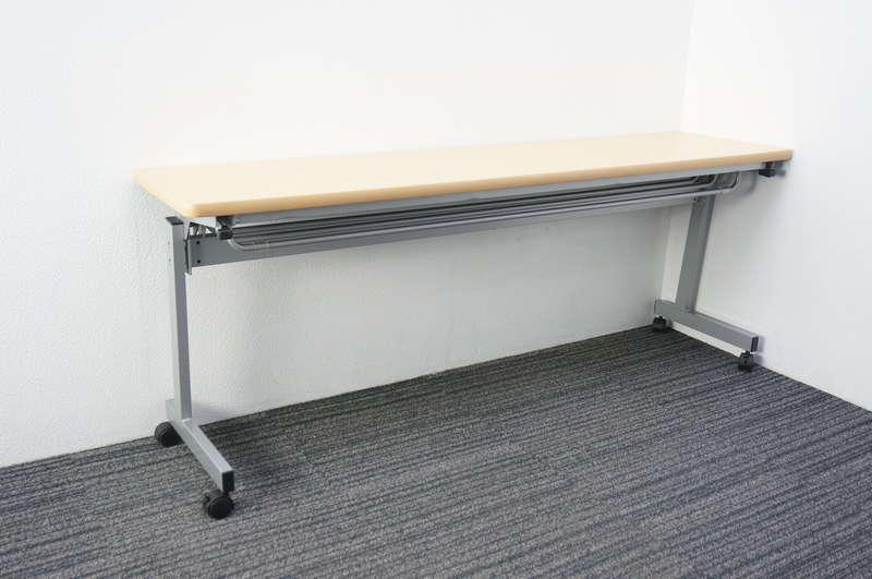 【自社便対応のみ】フラップテーブル 1845 木目