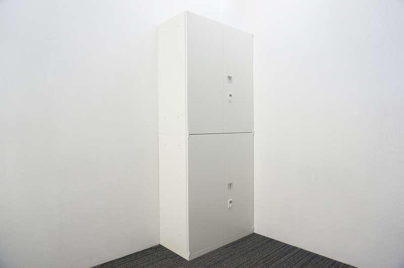 オカムラ レクトライン ダイヤル式両開き2段書庫 H2150 ZA75色
