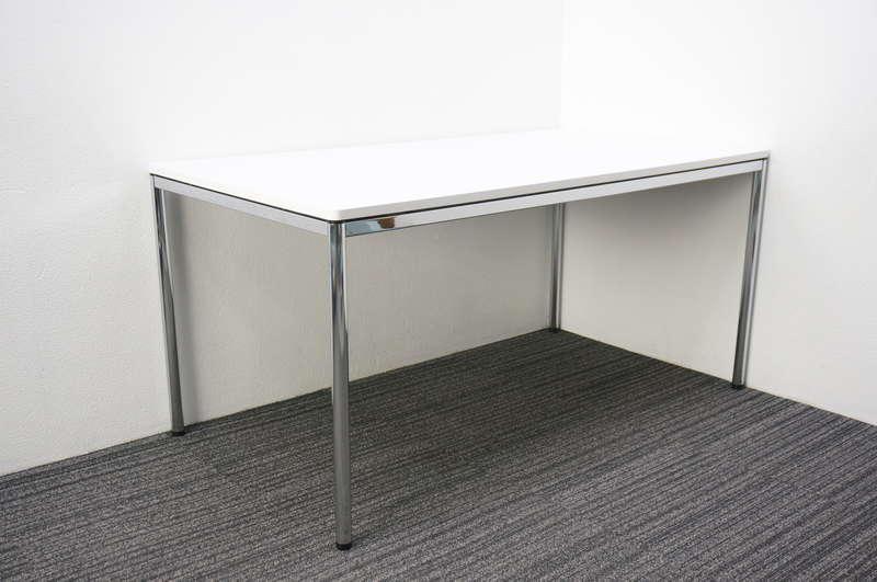 オカムラ トレッセR ミーティングテーブル 1580 ホワイト