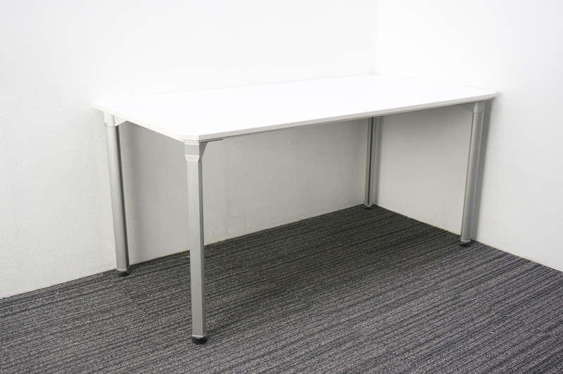 【分解不可】オカムラ スナップパワー ミーティングテーブル 1575 ホワイト