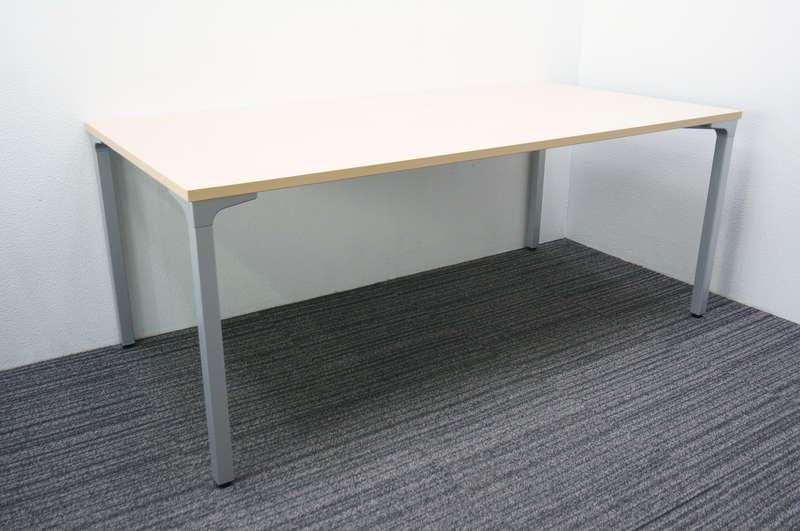 プラス ロンナ ミーティングテーブル 1890 ホワイトメープル
